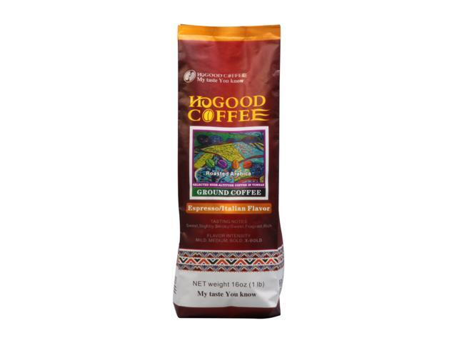 Hogood HCOF-11001 Espresso/Italian Flavor , 1lb Bag, coffee(powder)