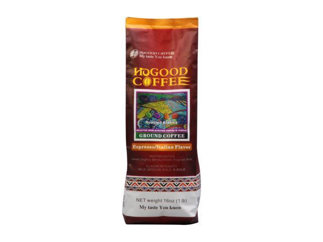 Hogood HCOF-11001 Espresso/Italian Flavor , 1lb Bag, coffee(powder)