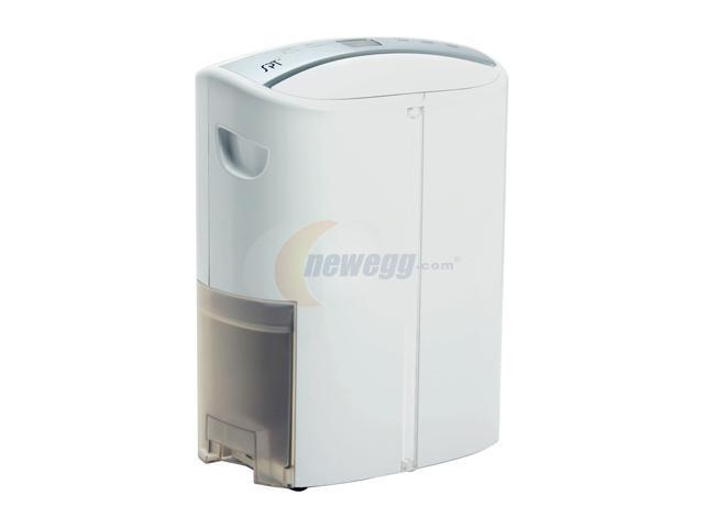 Sunpentown SD-46T 46 Pints Dehumidifier with TiO2 & UV Light White