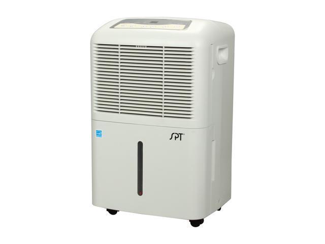 Sunpentown SD-70E 70 Pint Quiet Dehumidifier w/ Energy Star White