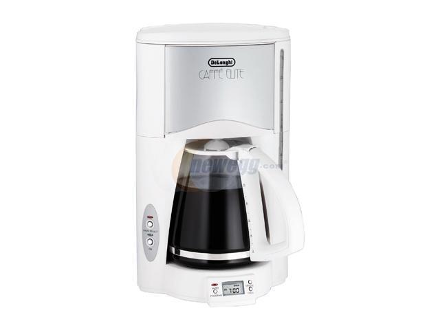 Delonghi Coffee Maker Caffe Elite : DeLonghi DC76TW CAFFE ELITE Coffee Maker With Programmable Timer - Newegg.com