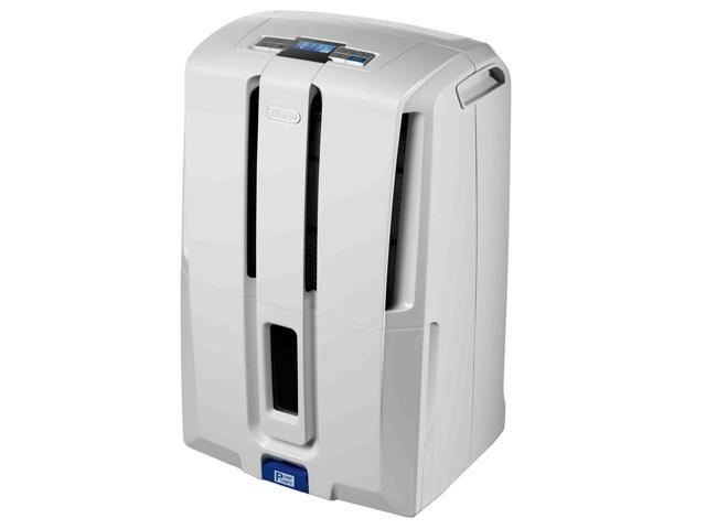 Delonghi DD50P 50-Pint Capacity Dehumidifier with Pump White