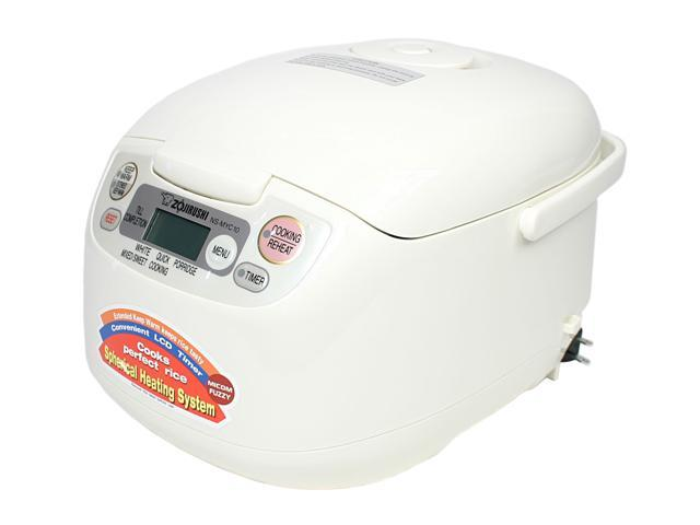 ZOJIRUSHI NS-MYC10 White 5.5 cups Rice Cooker