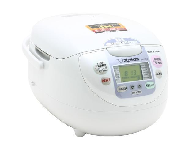 ZOJIRUSHI NH-VBC18 White Rice Cooker
