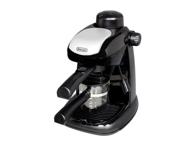 delonghi black ec5 steamdriven 4 cup espresso and cappuccino maker