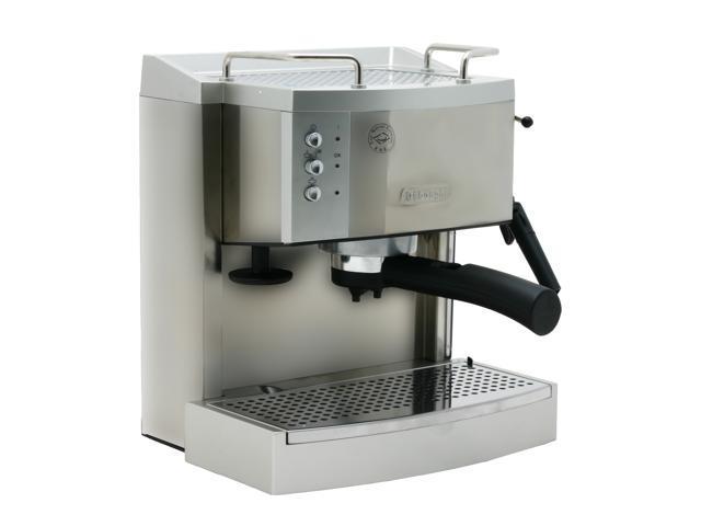 Delonghi Coffee Maker Warranty : DeLonghi EC701 Pump Espresso/Cappuccino Maker Silver - Newegg.com