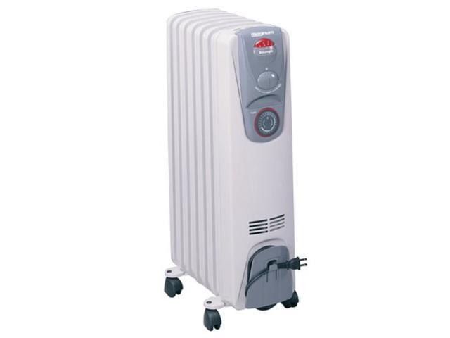 DeLonghi MG15T Heavy Duty Oil Radiator Heater with Timer