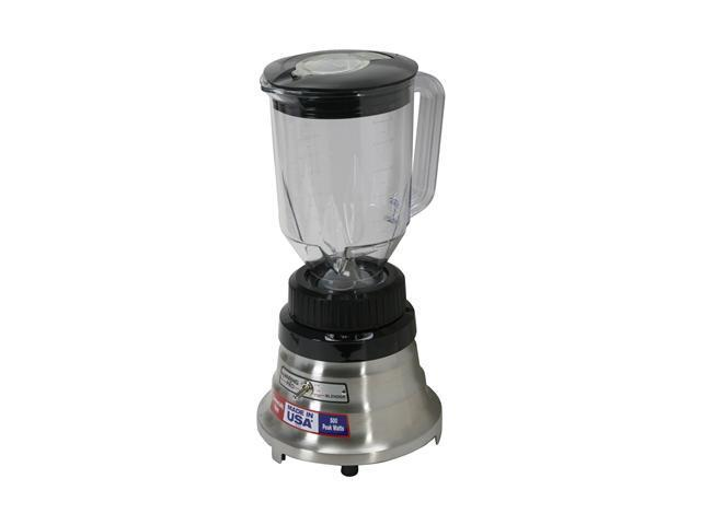Waring Pro WPB80BC Brushed Chrome 48 oz. Jar Size Professional Bar Blender 2 speeds