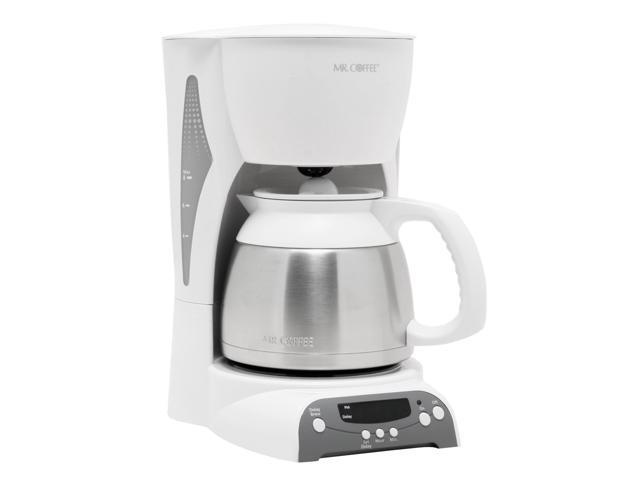 MR. COFFEE DRTX84 White 8 Cup Thermal Programmable Coffee Makers