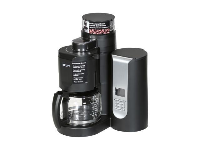 Krups Km 700 Grind And Brew Coffee Maker : KRUPS KM7000 Black Grind-and-Brew Coffeemaker - Newegg.com