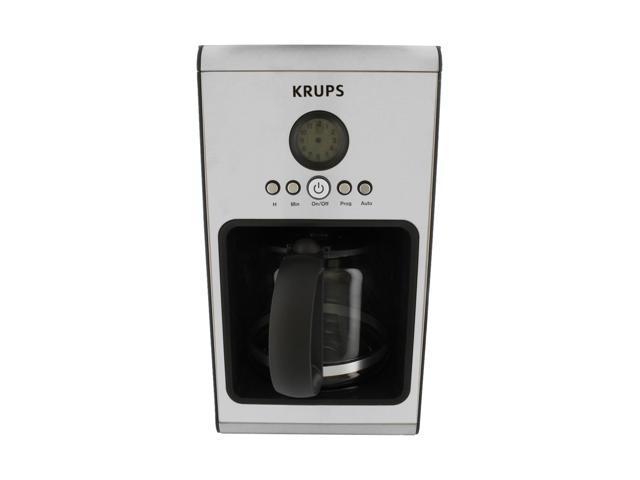 Krups Coffee Maker Km1000 Manual : KRUPS KM1000 Stainless steel Glass Programmable Coffee Machine - Newegg.ca