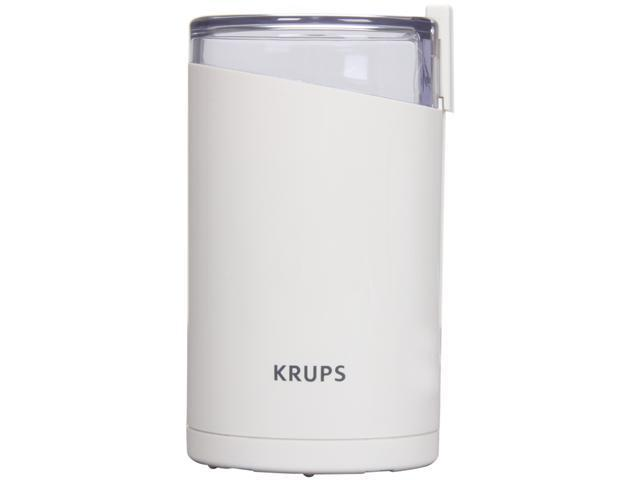 KRUPS 203-70 White Fast-Touch Coffee Grinder