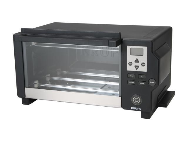 Krups Fbc2 Black 6 Slice Digital Convection Toaster Oven