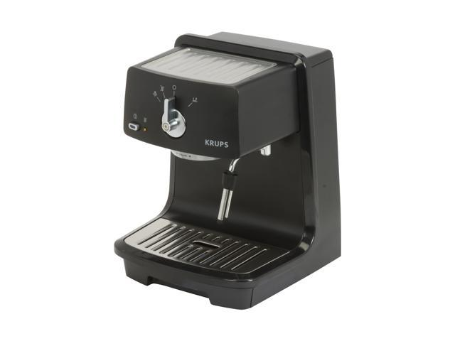 krups xp4000 pump espresso machine black. Black Bedroom Furniture Sets. Home Design Ideas