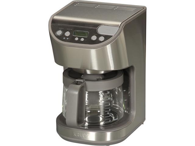 KRUPS KM611D50 Stainless steel Coffee Maker