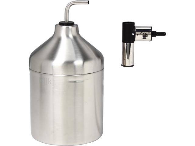 KRUPS XS6000 Auto Cappuccino Milk Frothing System in Stainless Steel for KRUPS EA82 Espressaria Full Automatic Machine Silver
