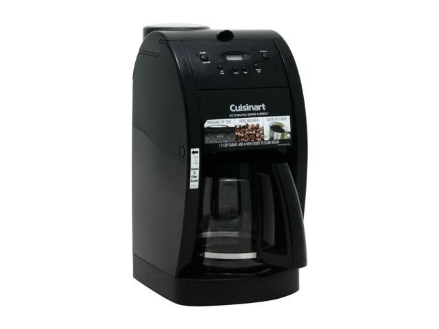 Cuisinart DGB-500BK Black Grind & Brew 12-Cup Automatic Coffeemaker
