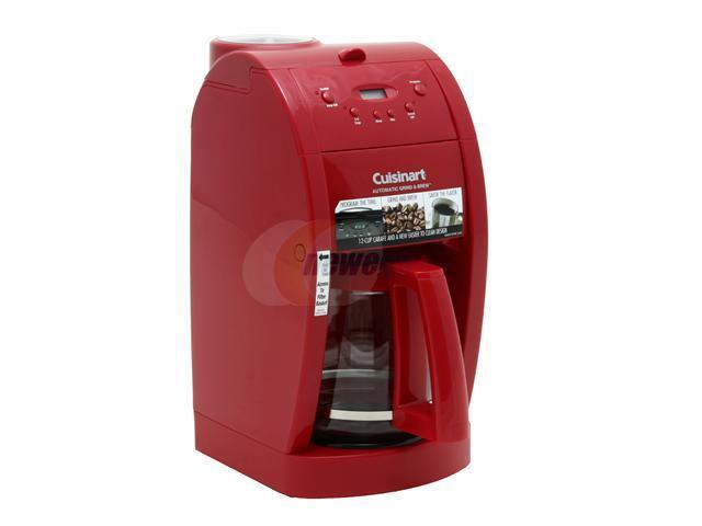 Cuisinart DGB-500R Red Grind & Brew 12-Cup Automatic Coffeemaker