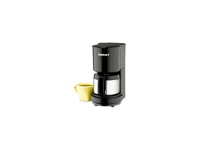 Cuisinart Coffee Maker Internal Carafe : Cuisinart DCC-450BK 4-Cup Coffeemaker with Stainless-Steel Carafe, Black - Newegg.com