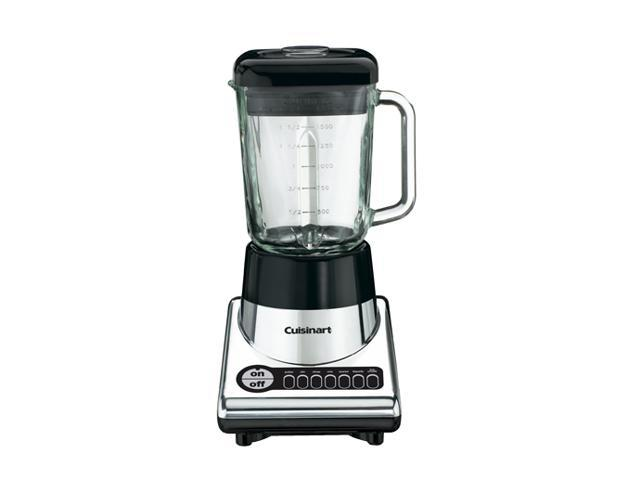 Cuisinart SPB-10CH PowerBlend 600-Watt 56-Ounce Blender, Chrome and Black