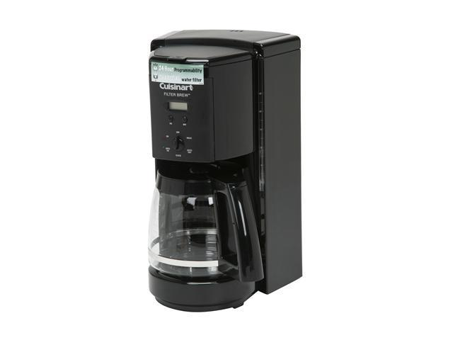 Cuisinart DCC-1000BK Black Filter Brew 12-Cup Programmable Coffeemaker