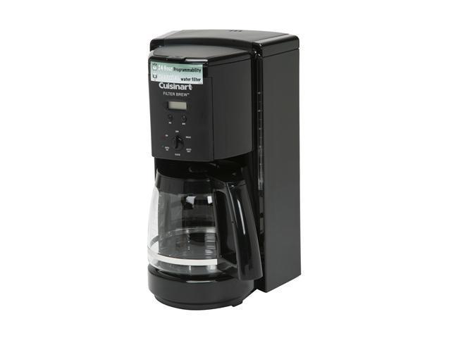 Cuisinart DCC-1000BK Black Filter Brew 12-Cup Programmable Coffeemaker