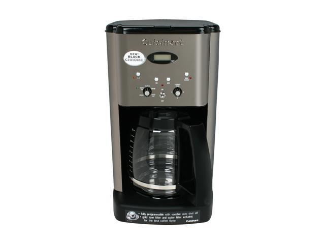 Cuisinart DCC-1200BCH Black Chrome Brew Central 12-Cup Programmable Coffeemaker