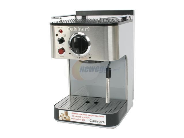 Cuisinart EM-100 Espresso Maker Silver
