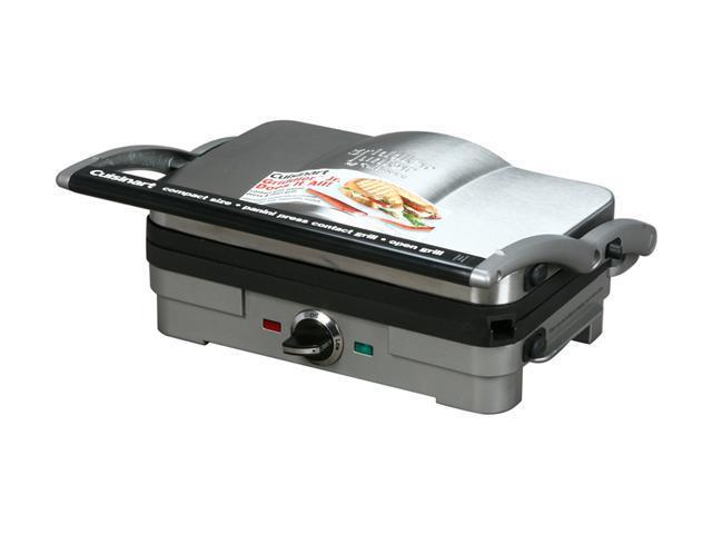 Cuisinart GR-3 Stainless Steel Griddler Jr