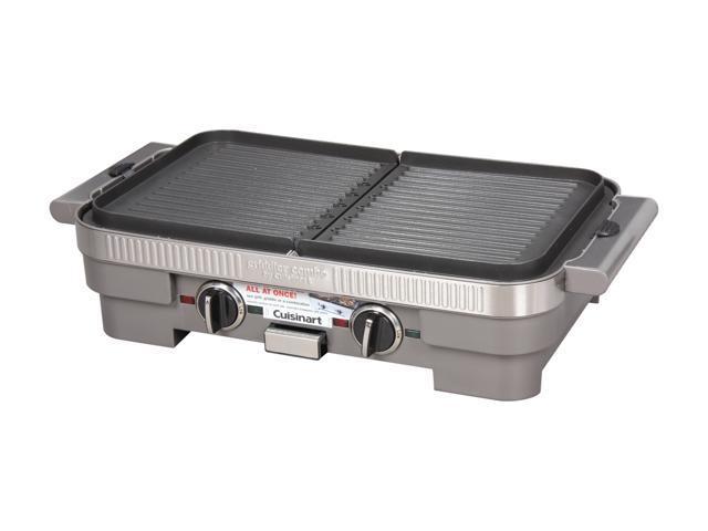 Cuisinart GR-55 Stainless Steel Griddler Combo