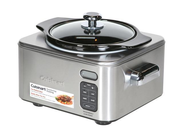 Cuisinart PSC-400 Stainless Steel Programmable Slow Cooker