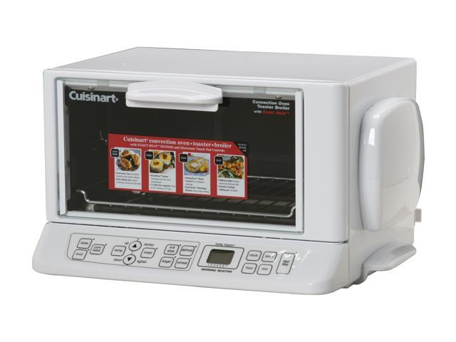 Cuisinart tob 165 white convection toaster oven broiler - Cool touch exterior convection toaster oven ...
