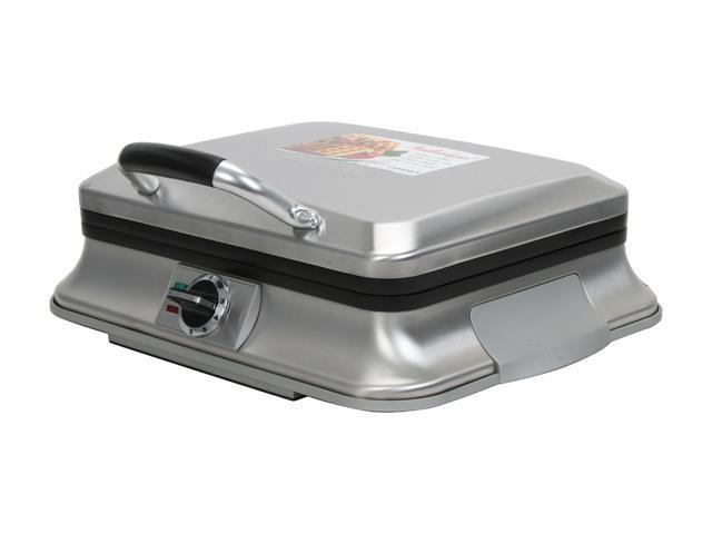 Cuisinart WAF-6 Stainless Steel Traditional Waffle Iron