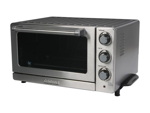 Cuisinart TOB-60 Stainless Steel Toaster Oven Broiler with Convection