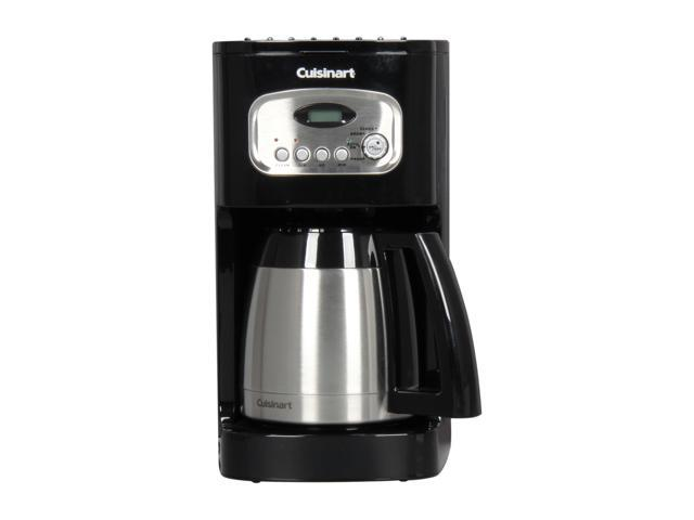 Cuisinart DCC-1150BKFR Black 10-Cup Programmable Thermal Coffeemaker