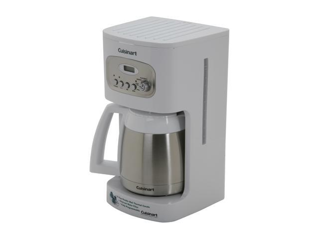 Cuisinart DCC-1150 White 10-Cup Programmable Thermal Coffeemaker