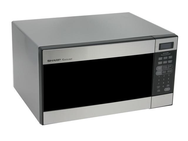 Sharp 1100 Watts 1.2 cu.ft. Mid Size Microwave Oven R-326FS Stainless Steel