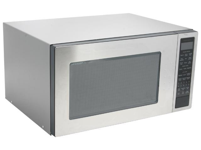Sharp 1200 Watts 2 0cu Ft Full Size Microwave Oven R 530es Stainless