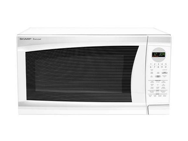 Sharp Countertop Microwave Dimensions : Sharp Full Size Countertop Microwave Oven R-520LW Microwave Oven ...