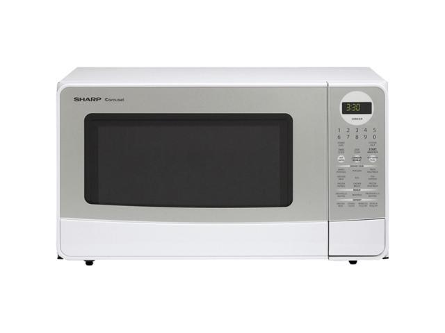 Sharp Countertop Microwave Dimensions : Sharp 1100 Watts Family Size 1.4 cu.ft. Countertop Microwave oven R ...