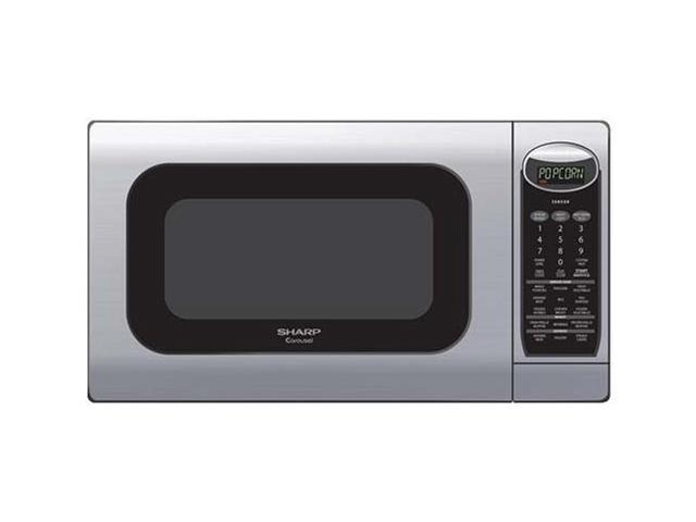 Sharp Countertop Microwave Dimensions : Sharp Family Size Countertop Microwave oven R-425LS Microwave Oven ...