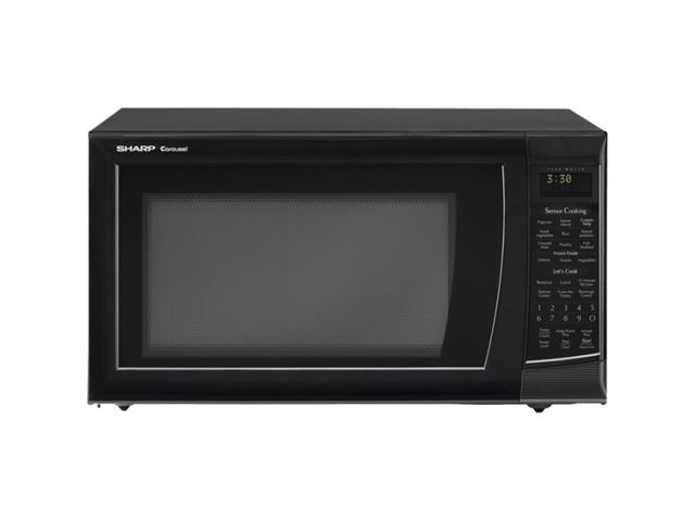Sharp 1200 Watts Microwave Oven R530EKT Sensor Cook Black