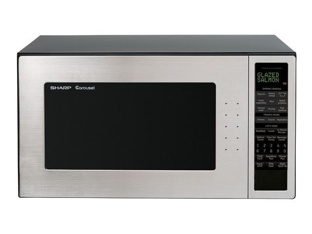 Sharp R-530EST 2.0 cu. ft. 1200W Full-Size Countertop Microwave