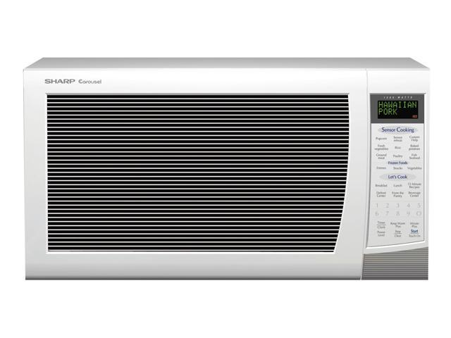 Sharp R-530EW 2.0 cu. ft. 1200W Full-Size Countertop Microwave