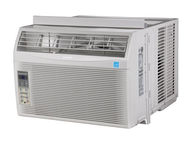 Sharp af s100rx 10 000 cooling capacity btu window air for 10000 btu window air conditioner room size