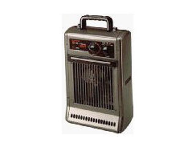 Honeywell HZ-2110 Charcoal Gray 1500 Watts All Metal Utility Heater Fan