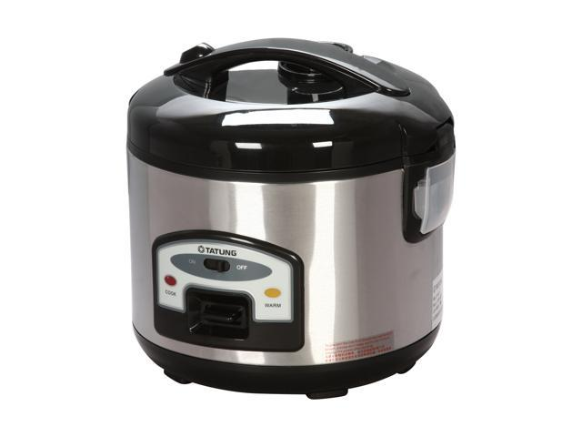 TATUNG TRC-6ST Stainless Steel Direct Heat Rice Cooker