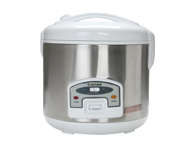 TATUNG TRC-10STW Stainless Steel Direct Heat Rice Cooker
