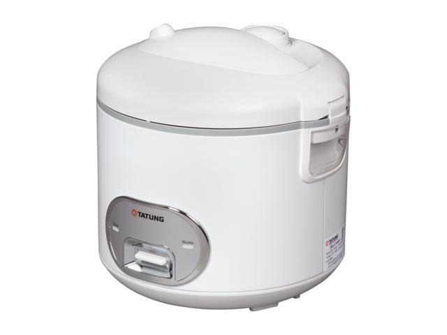 TATUNG TRC-10UM White/Stainless Direct Heat Rice Cooker