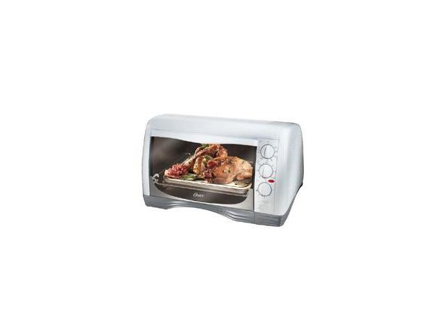 Oster 6235 White 4 Slice Toaster Oven Newegg Com